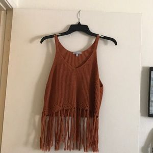 Cute fringed festival top